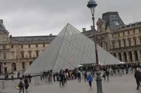 Postcard 24.4: The Louvre, Paris, France