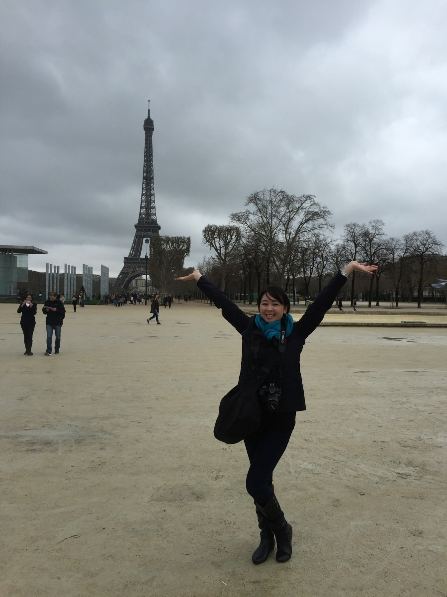 Postcard 24.3: Eiffel Tower, Paris, France