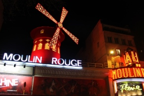 Postcard 24.5: Moulin Rouge, Paris, France