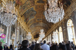 Postcard 24.6: Palace of Versailles, France