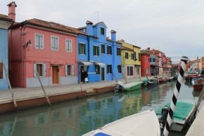 Postcard 27.2: Burano, Venice,Italy